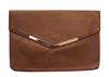 Suede Envelope Clutch Purse